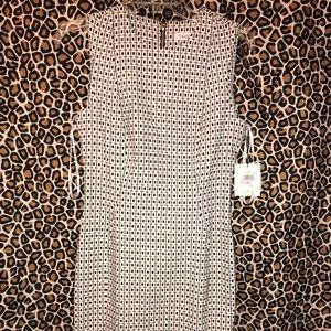 Calvin Klein Sz 6 Tailored A-line Dress Business